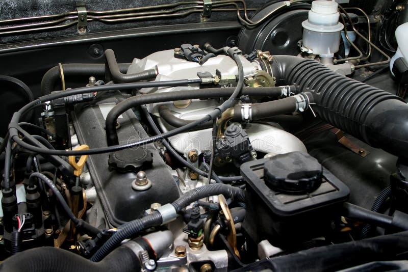 引擎老强大 免版税库存照片