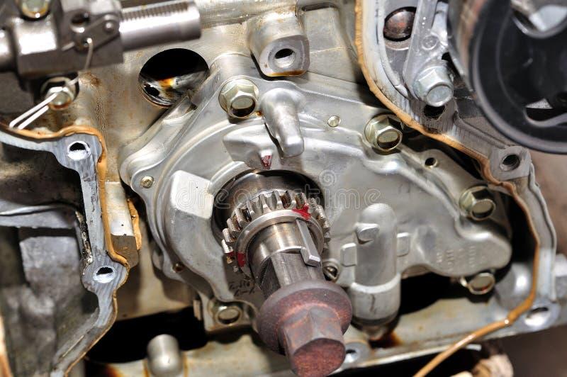 引擎细节。 免版税库存照片