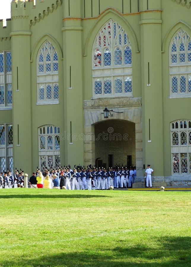 弗吉尼亚军事学院(VMI)军校学生 库存图片
