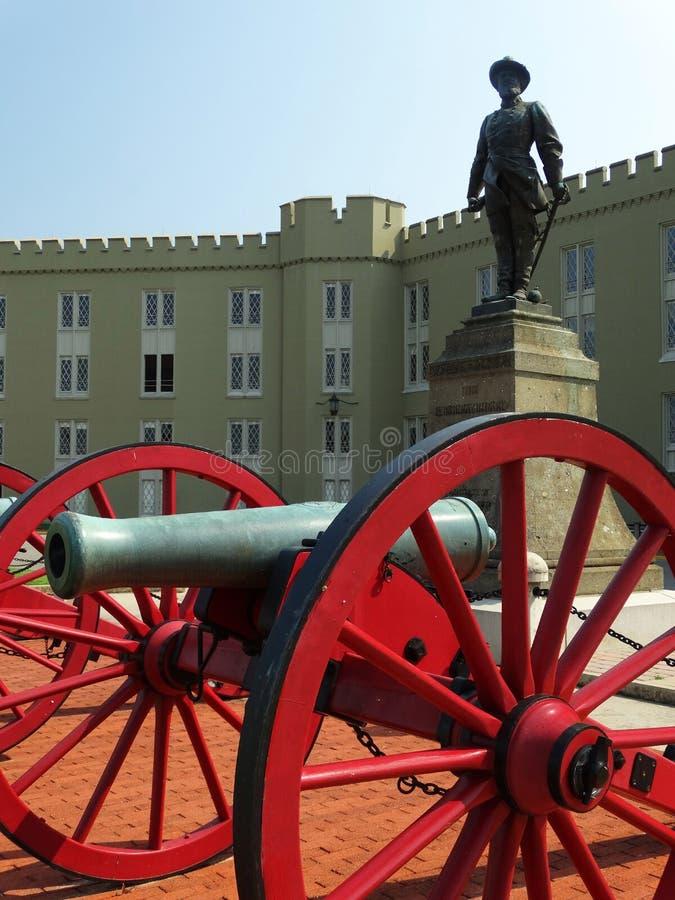 弗吉尼亚军事学院- VMI 库存照片