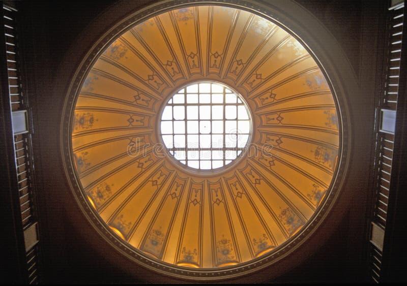 弗吉尼亚状态国会大厦内部  免版税库存图片