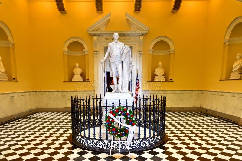 弗吉尼亚状态国会大厦-里士满,弗吉尼亚 库存图片