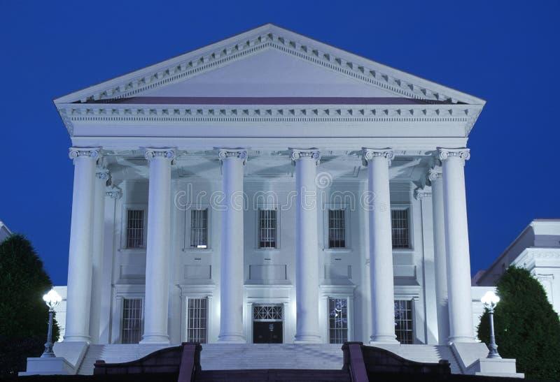 弗吉尼亚状态国会大厦  库存照片