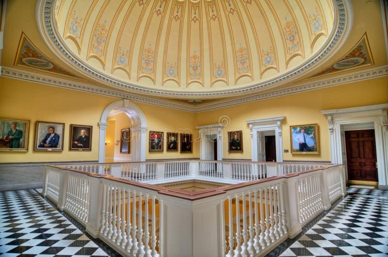 弗吉尼亚状态国会大厦 库存图片