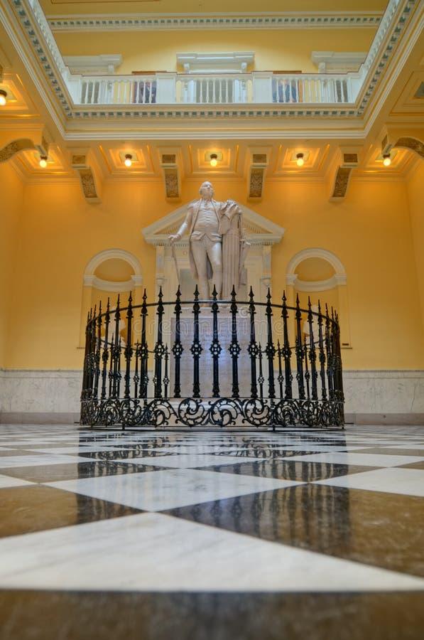 弗吉尼亚状态国会大厦 免版税图库摄影