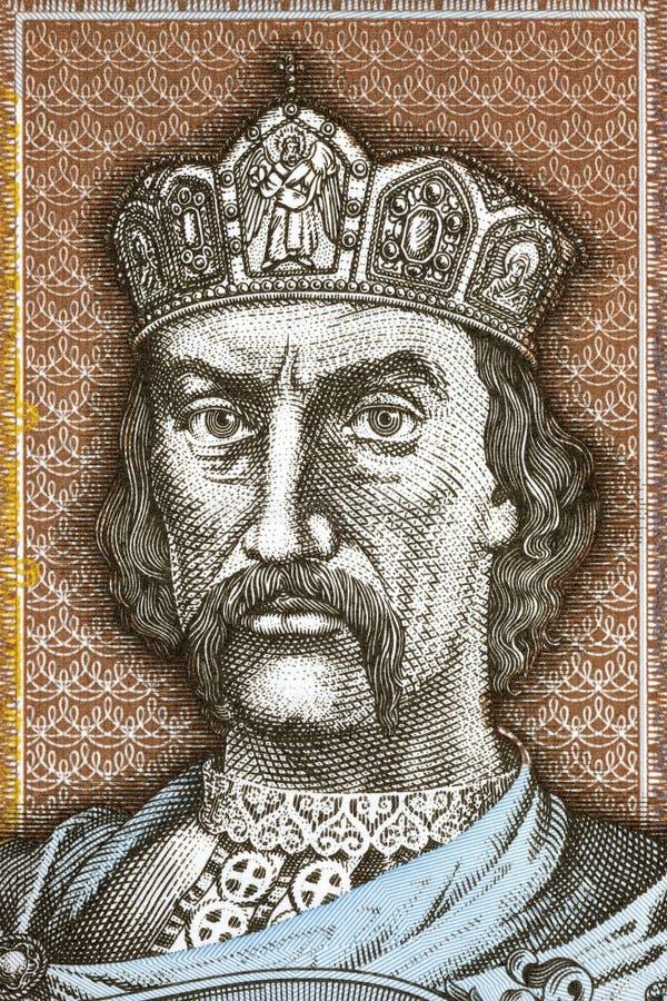 弗拉基米尔一世・斯维亚托斯拉维奇画象 免版税图库摄影