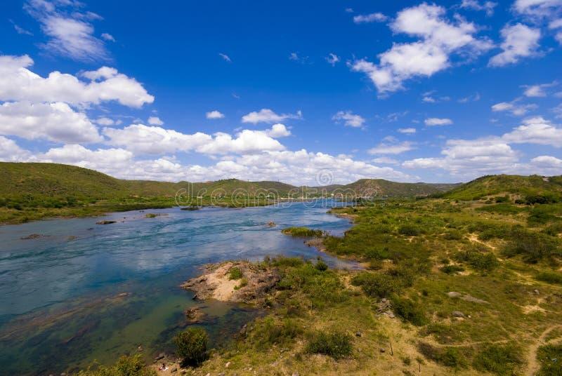 弗朗西斯科河圣地 免版税库存图片