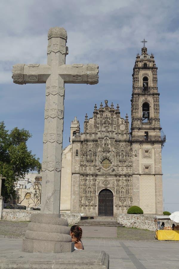 弗朗西斯科iglesia javier ・ tepotzotlan的圣 免版税库存图片