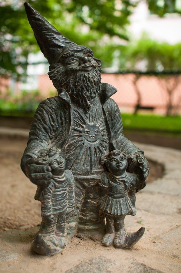 弗罗茨瓦夫矮人, Promyk 免版税库存照片