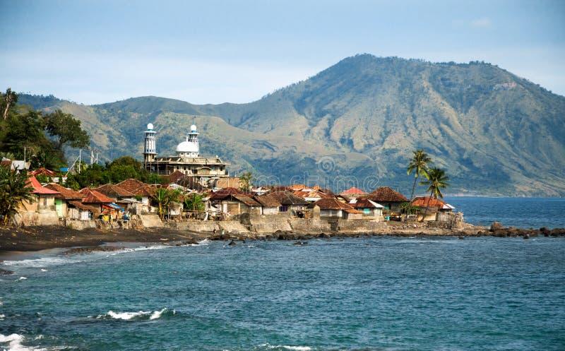 弗洛勒斯,印度尼西亚风景  库存照片