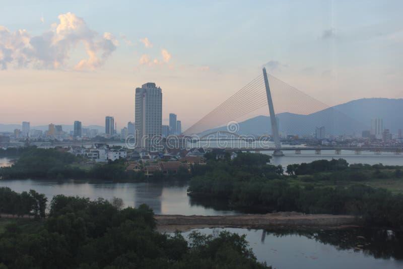 从弗累斯大转轮的岘港 免版税图库摄影