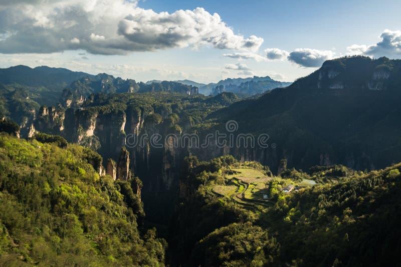张家界国家公园 图库摄影
