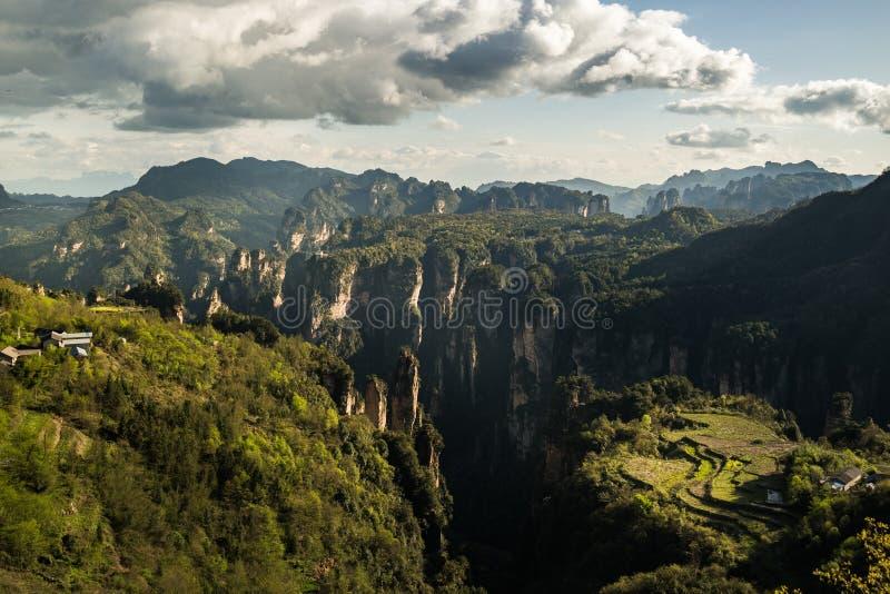 张家界国家公园 库存图片