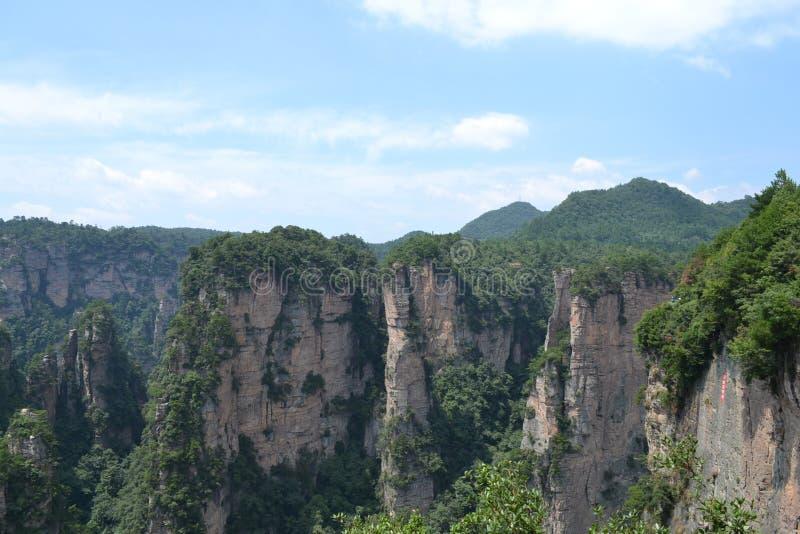 张家界国民Forest Park 免版税库存图片