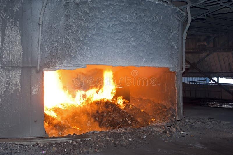 弧电炉运算 库存照片