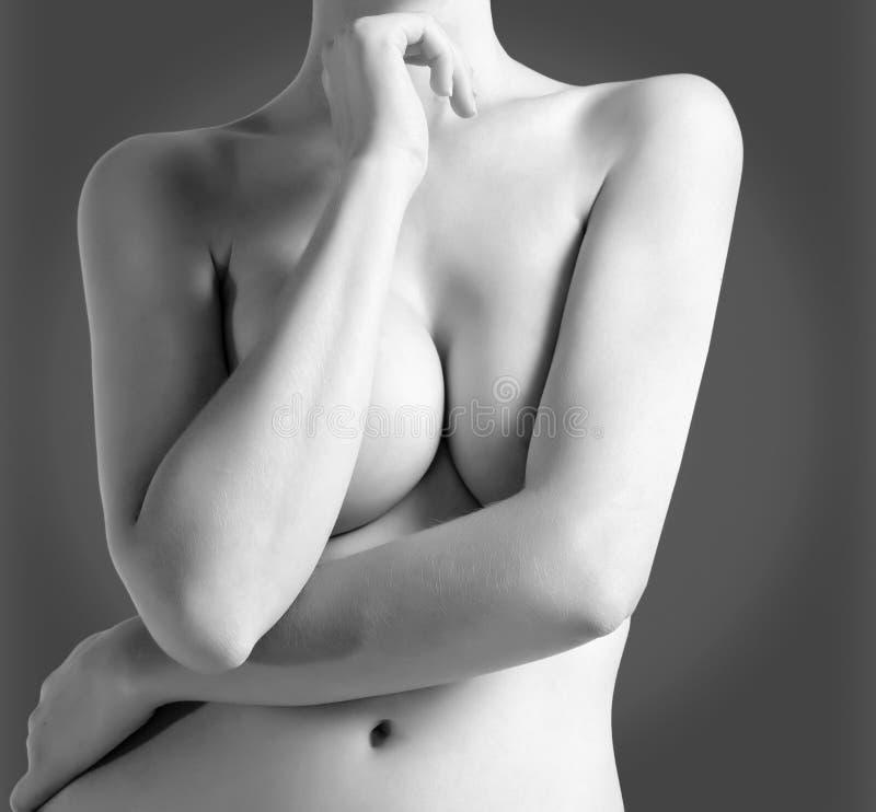弯曲女性 库存照片