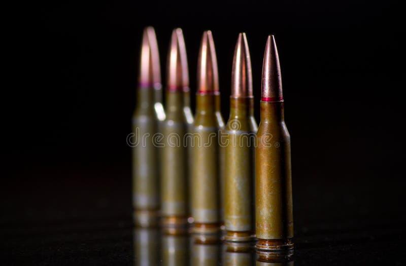 弹药弹药筒 免版税图库摄影