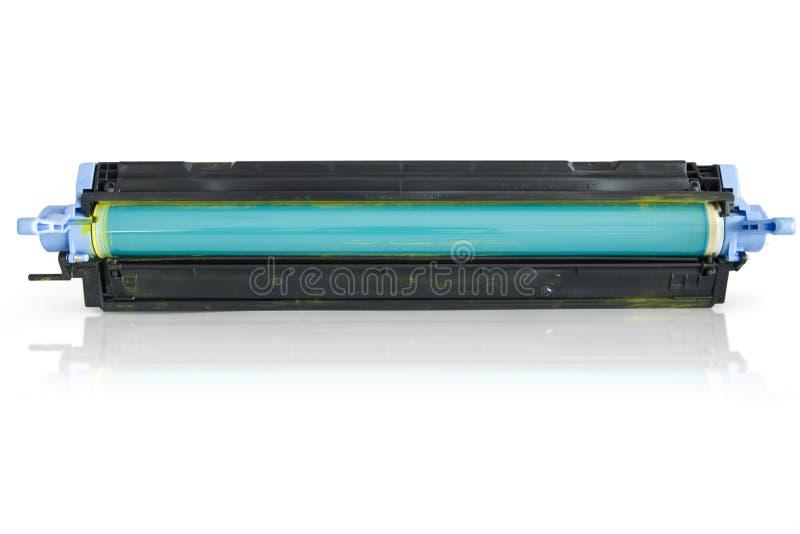 弹药筒激光打印机调色剂 库存照片