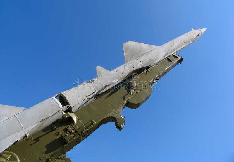弹道导弹老俄语 免版税库存照片