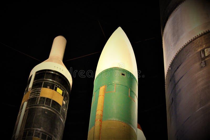 弹道导弹 免版税库存图片