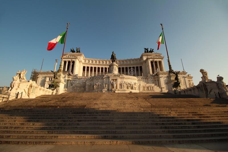 强加的罗马战争纪念建筑 免版税库存照片