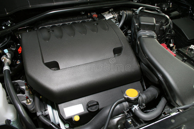 强大的引擎 库存照片