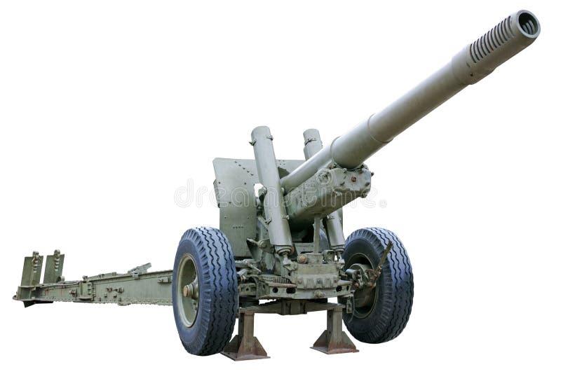 强有力的短程高射炮 免版税图库摄影