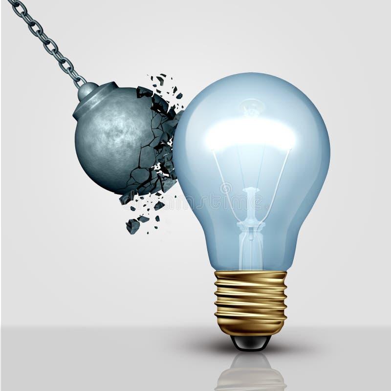 强的创造性的想法 库存例证
