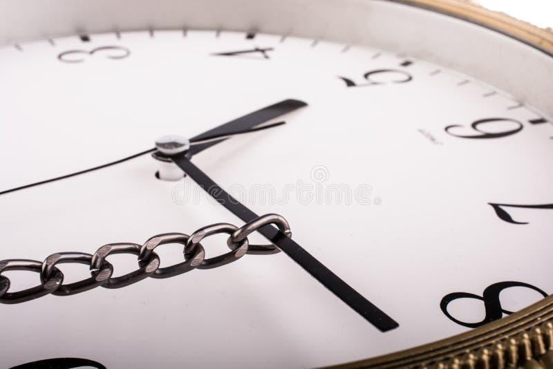 强迫时间 免版税图库摄影