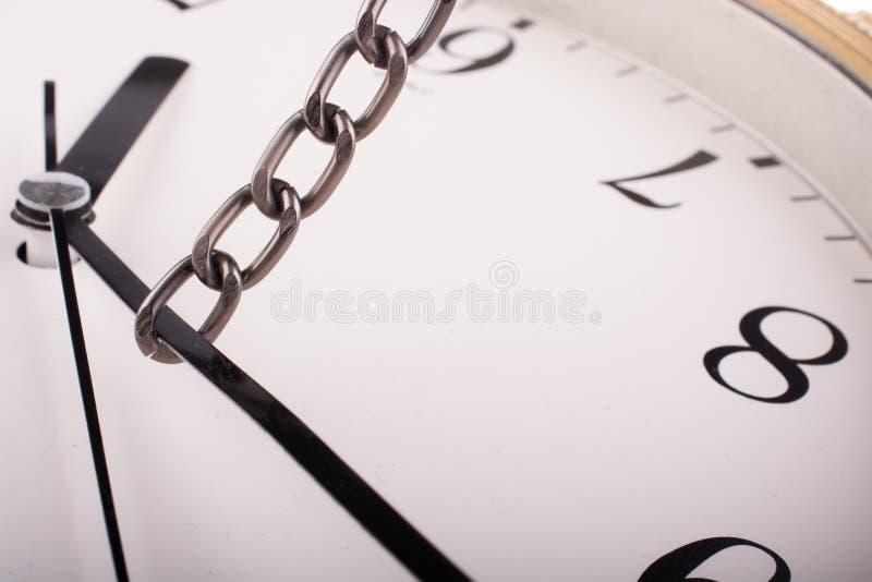 强迫时间 免版税库存照片