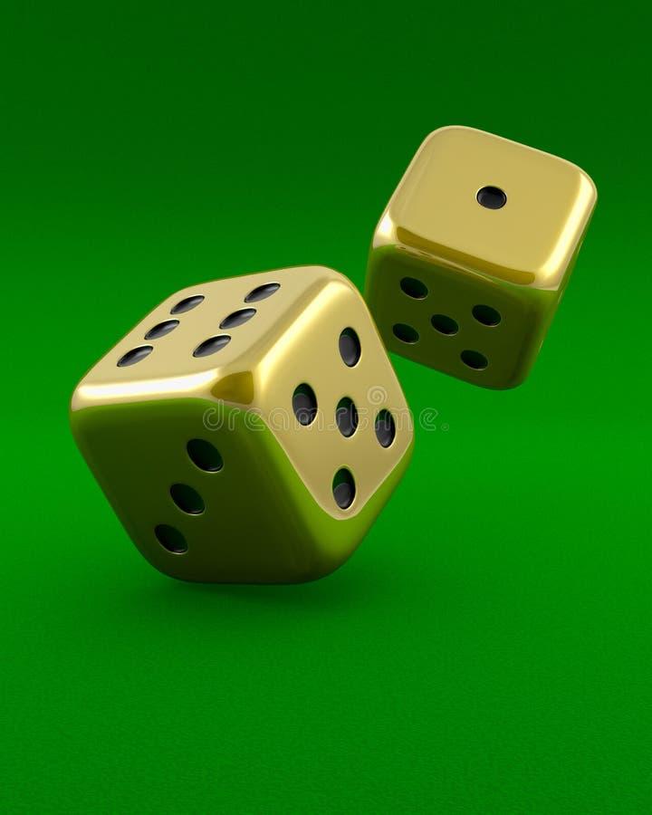 Download 彀子金黄绿色 库存例证. 插画 包括有 多维数据集, 正方形, 浪费, 金黄, 货币, 手段, 金子, 风险 - 15681360