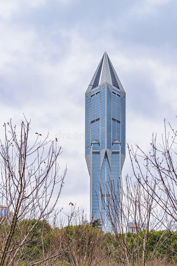 当代大厦,上海,中国 库存照片