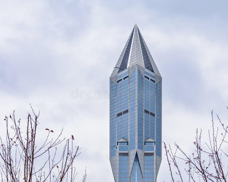当代大厦,上海,中国 库存图片