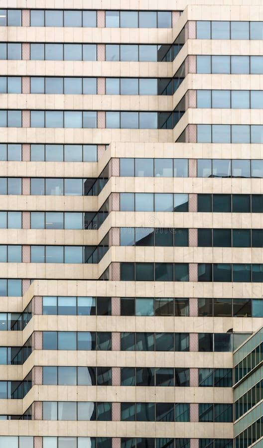 当代建筑学的抽象片段 免版税库存图片