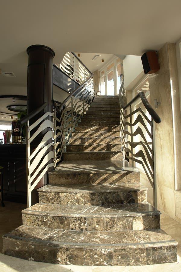 当代楼梯 免版税库存照片