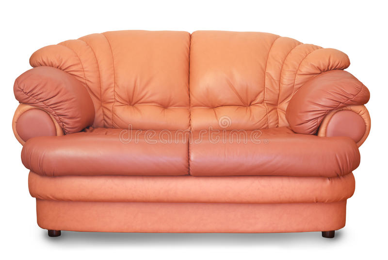 当代沙发 免版税图库摄影