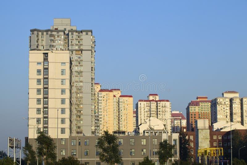 当代的大厦 库存图片
