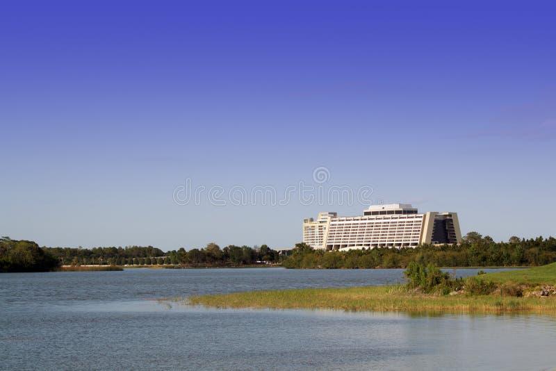 当代迪斯尼旅馆奥兰多walt世界 库存图片