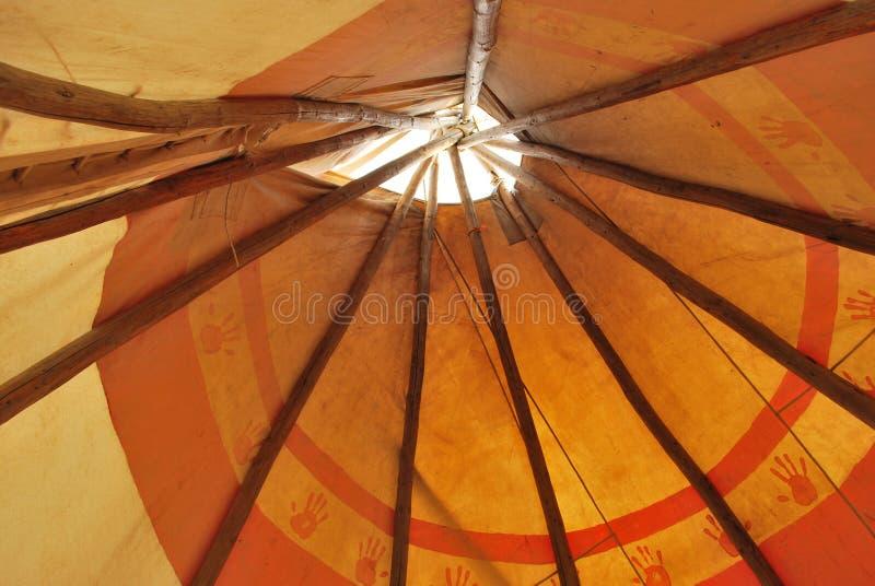 当地帐篷 免版税库存图片