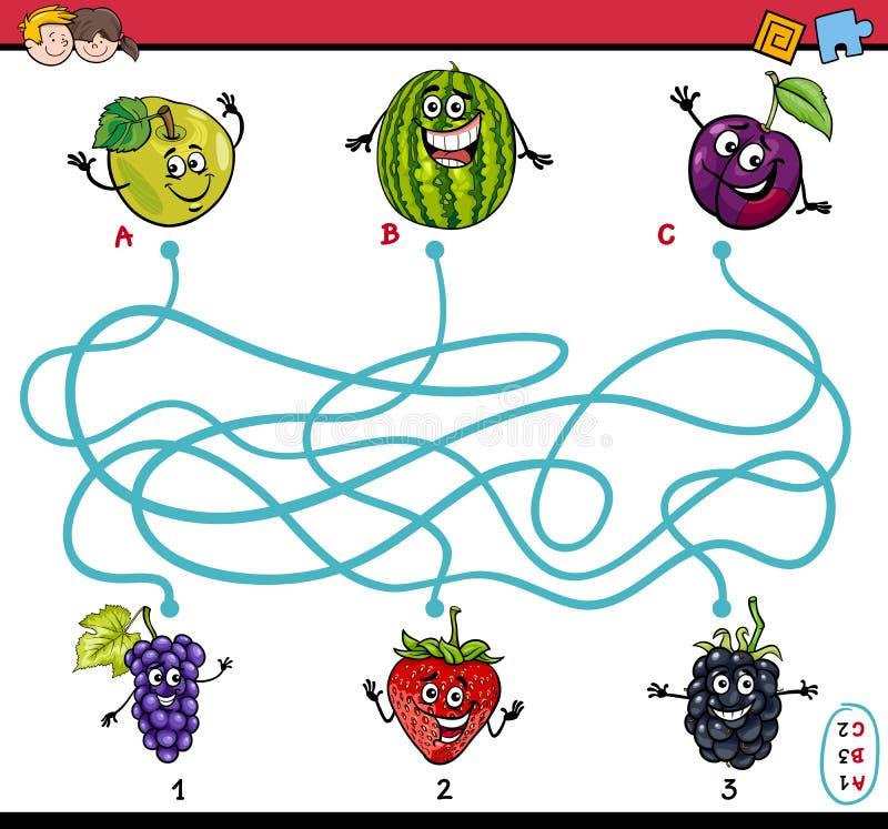 当心黑色能糖果子项收集蠕动的比赛goin家多少只迷宫蜘蛛您 库存例证