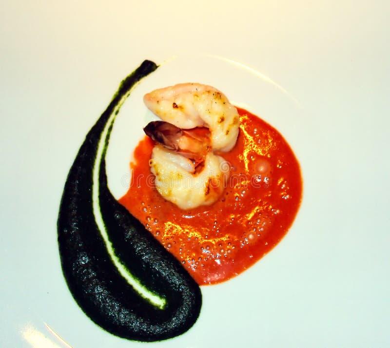 当食物是delishous和艺术形式 库存图片
