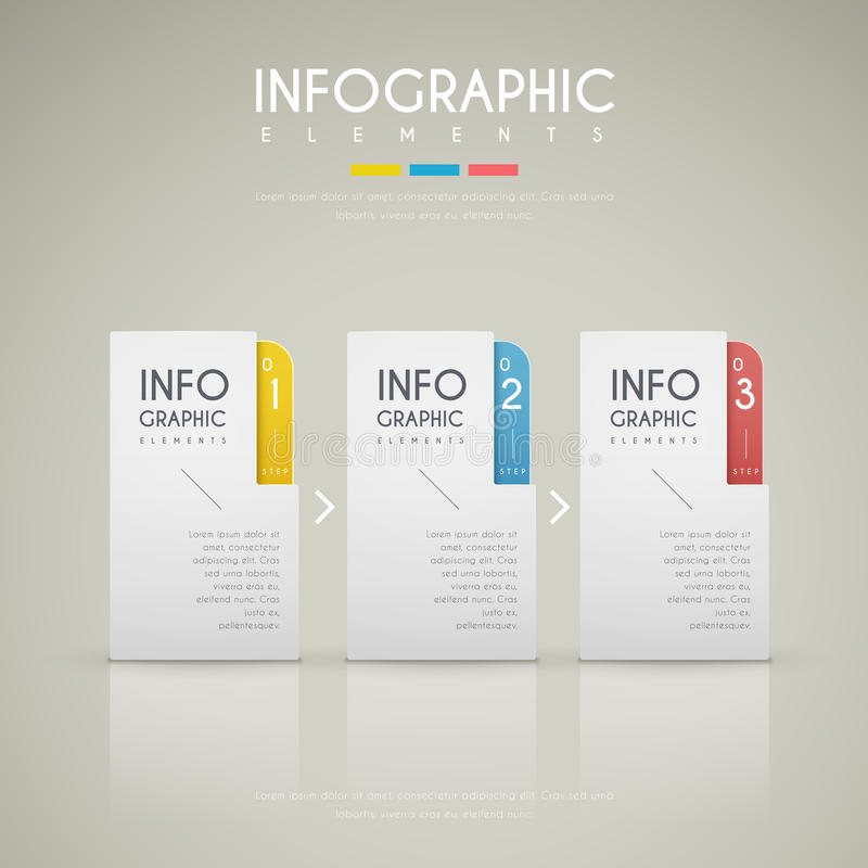 当代infographic设计 皇族释放例证