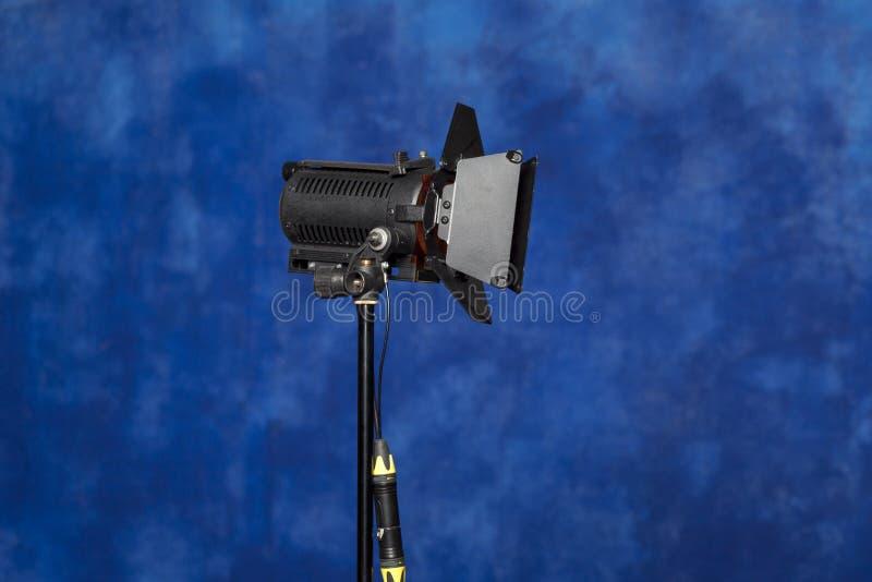 录影的照明设备 图库摄影