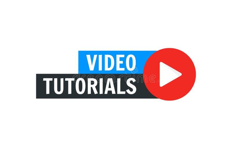 录影讲解传染媒介象 训练网上录影讲解的Webinar销售平的媒介 库存例证