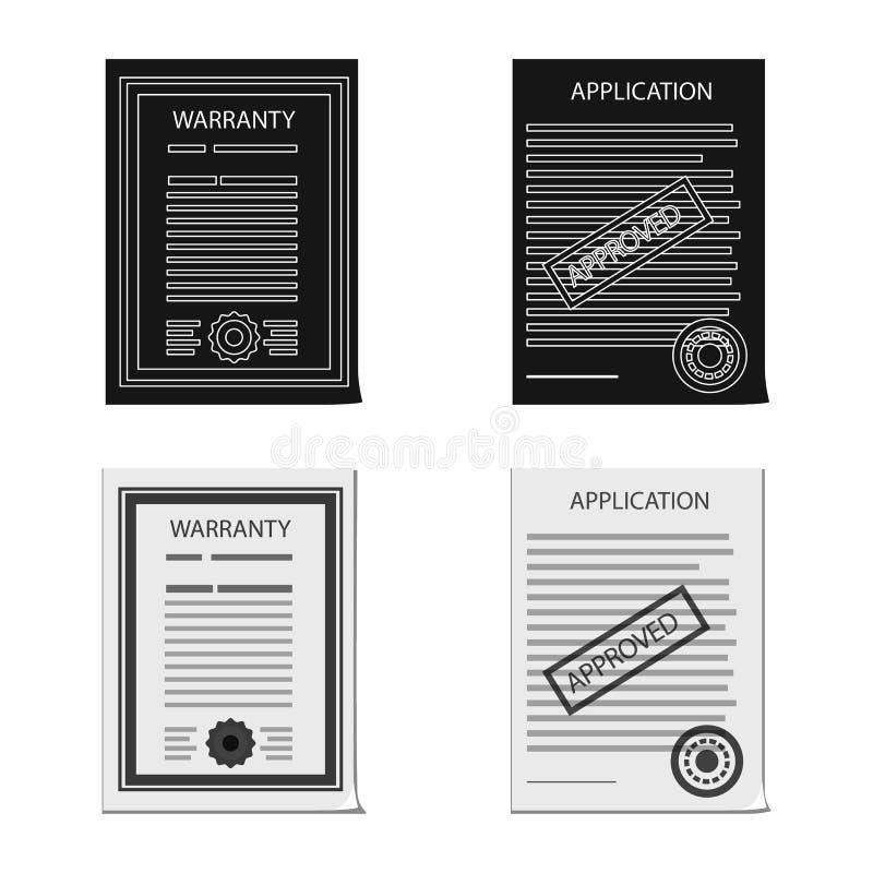 形式和文件商标被隔绝的对象  形式和标记股票简名的汇集网的 皇族释放例证