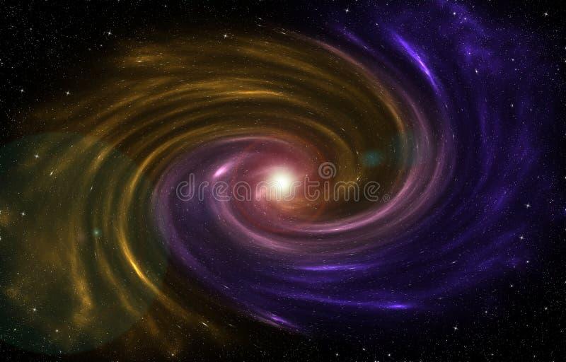 形成在宇宙的星云一个新的星 图库摄影