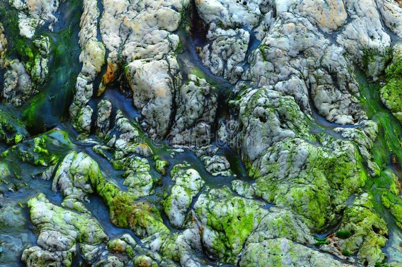 形成大理石岩石 库存图片