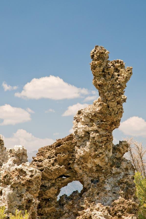 形成岩石凝灰岩 免版税库存图片