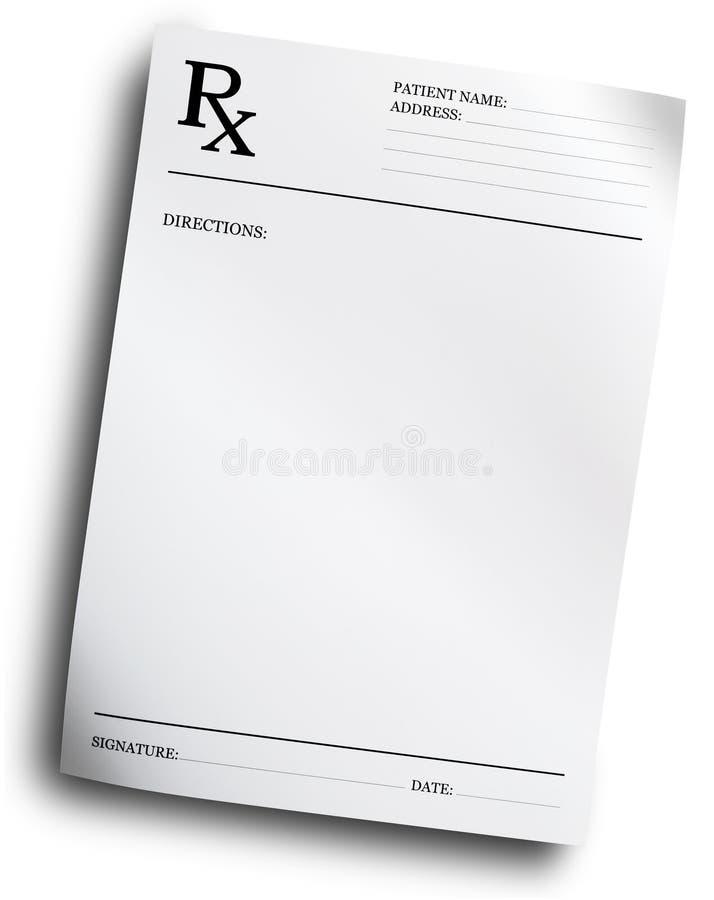形成规定rx 库存图片