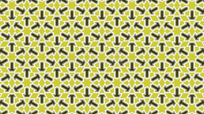 形状的一个小组的背景看起来象别针、梯度颜色在绿色之间和白色,摘要几何样式 库存图片